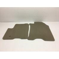 OEM Ford Focus Front Floor Mats Light Beige 8S4Z-1613300-AA