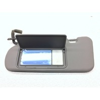 OEM Kia Sorento Left Driver Gray Vinyl Sun Visor Light w/ Mirror 85201-3E075CY