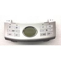 OEM Hyundai Elantra w/o AQC Silver Face Temperature Control 97250-2H500S4