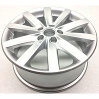 OEM Volkswagen Jetta Golf Wheel 5K0-601-025-D-8Z8 10 Spoke 17x7