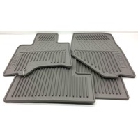 OEM Infiniti EX37 Front Floor Mat Set 999E1-5Z001 Light Gray Rubber All-Weather