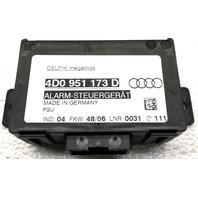 OEM Audi A8 Theft-Locking Control Module 4D0-951-173-D
