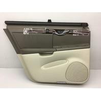 NOS OEM Cadillac Deville DHS Rear Left Door Trim Panel 12483310 Light Wheat