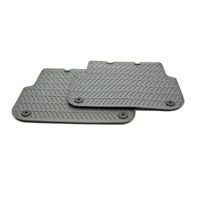 OEM Audi A6 Rear All Weather Floor Mats 4F0 061 511 528 Grey