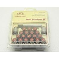 OEM Kia Soul Wheel Lug Kit U8440-2K000 20 Lugs Red