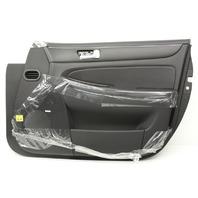 OEM Hyundai Genesis Front Door Trim Panel 82302-3M070-BR Black