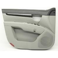 OEM Hyundai Santa Fe Front Driver Door Trim Panel 82301-0W010-J4 gray