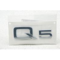 OEM Audi Q5 Decklid Tailgate Emblem 8R0-853-741-2ZZ