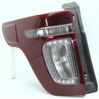 OEM Ford Explorer Left Driver Side Tail Lamp Lens Chips