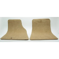 New Old Stock OEM Lincoln Town Car Front Floor Mat Set F6VZ-5413086-AAG Saddle