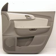 New Old Stock OEM Chevy Traverse Front Passenger Door Trim Panel 20952624 gray