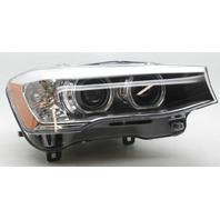 OEM BMW X3 X4 Right HID Headlamp w/Ballast w/Bulb 63-11-7-401-142 Lens Scratch