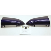 OEM Mazda 3 Sedan Rear Bumper Flare Cover Kit BN8P-V4-930F-38 Strato Blue (25E)