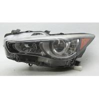 OEM Infiniti Q50 Left LED Headlamp 26060-4HB0B Tab Gone