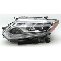 OEM Nissan Rogue Left LED Headlamp w/Bulbs 260604BA5A Tab Chip