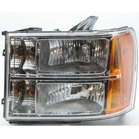 Aftermarket GMC Sierra 1500 Left Driver Side Headlamp Lens Wear