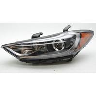 OEM Hyundai Elantra Sedan Left Halogen Headlamp w/Bulb 92101-F2040 Tab Gone