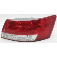 OEM Hyundai Sonata Right Halogen Tail Lamp 924023K020 Trim Gone Lens Crack