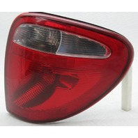 OEM Caravan Town & Country Right Halogen Tail Lamp w/Bulb 04857954AA Lens Crack