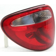 OEM Chrysler Town and Country Left Driver Side Tail Lamp Lens Crack