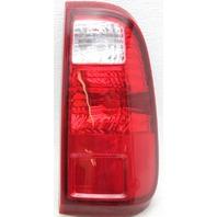 OEM Ford F250SD Right Passenger Side Tail Lamp lens Crack