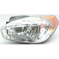 OEM Hyundai Accent Left Halogen Headlamp 92101-1E011