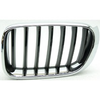 OEM BMW X3 Left Grille Chrome Scratches 51117210725