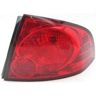 OEM Nissan Sentra Right Tail Lamp Lens Cracks 265506Z525