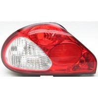 OEM Jaguar X-Type Left Driver Side Tail Lamp Lens Cracked