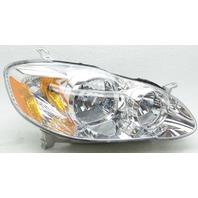 OEM Toyota Corolla Right Halogen Headlamp 81110-02360