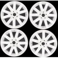 Volkswagen Audi Mercedies 17 inch Alloy Porto Wheel Set Gloss White