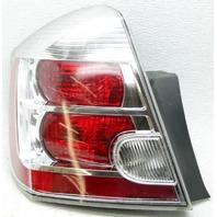 OEM Nissan Sentra Left Driver Side Tail Lamp Lens Crack 26555ET00B