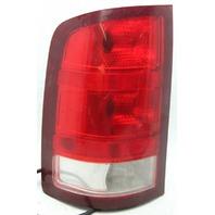 OEM GMC Sierra 1500 Left Driver Side Tail Lamp Dust Inside 25958484