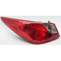 OEM Hyundai Sonata Left Driver Side Halogen Tail Lamp 92401-3Q000 Water Spots