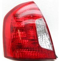 OEM Hyundai Accent Left Driver Side Tail Lamp Lens Crack 92401-1E010