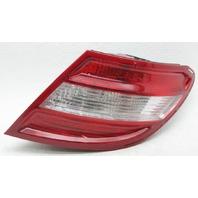 OEM Mercedes C-Class Passenger Side Halogen Tail Lamp 2048200264 2 Peg Gone