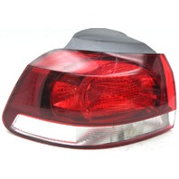 OEM GTI Golf Hatchback Left Driver Side Tail Lamp 5K0-945-095-G Lens Cracks