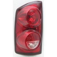 OEM Ram 1500 2500 3500 Left Halogen Tail Lamp 55277303AB Chrome Spots
