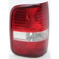 OEM Ford F150 Left Driver Side Halogen Tail Lamp 6L34-13B505-B Lens Cracks
