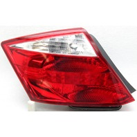 OEM Honda Accord Coupe Left Driver Side Tail Lamp Lens Crack 33550TE0A01
