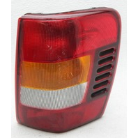OEM Jeep Grand Cherokee Right Passenger Side Halogen Tail Lamp 55155138AC Lens Chip