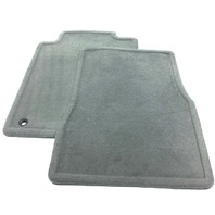 New Old Stock OEM Ford Mustang Front Floor Mats 5R3Z-6313086-AAB Gray