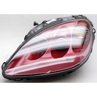 Non-US Market OEM Chevrolet Corvette Left Side Headlamp Torch Red