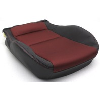OEM Genesis Coupe Left Front Lower Seat Cover 88100-2M030-MAC Black and Red