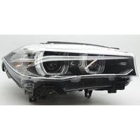 OEM BMW X5 X6 Right Passenger Side Headlamp 3318 3316 3393 Lens Crack Peg Gone
