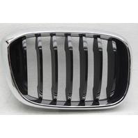 OEM BMW X3 Right Side Grille Insert 51137440854-08 Chrome Trim Black Insert