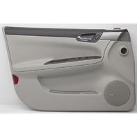 OEM Chevy Impala Front Door Trim Panel 20767022 gray