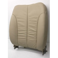 OEM Kia Sedona Front Left Driver Side Seat Back 88300-4D311CS2 Beige Tiny Cut