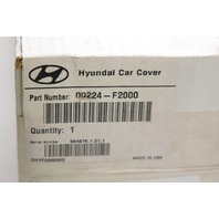 OEM Hyundai Car Cover 00224-F2000 Gray