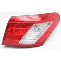 OEM Lexus ES350 Right Passenger Side Halogen Tail Lamp 81551-33500 Lens Crack
